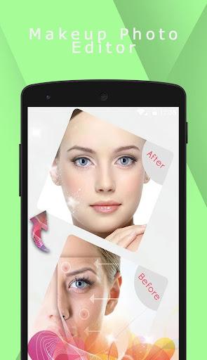 Editor de fotos de maquiagem - Camera de beleza screenshot
