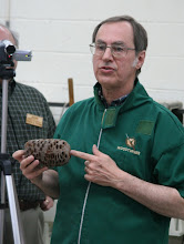 Photo: Allen explains the characteristics of the pods. There were many questions about what they are.