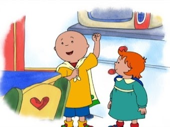 Super Caillou!/Trip On The Subway/Caillou's Race/As Good As New/I, Robot
