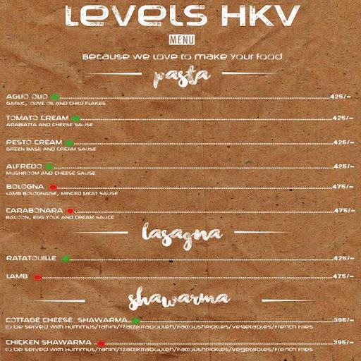 Menu 24 - Levels HKV, Hauz Khas Village, New Delhi