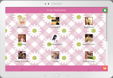 Finer Femininity App- screenshot thumbnail