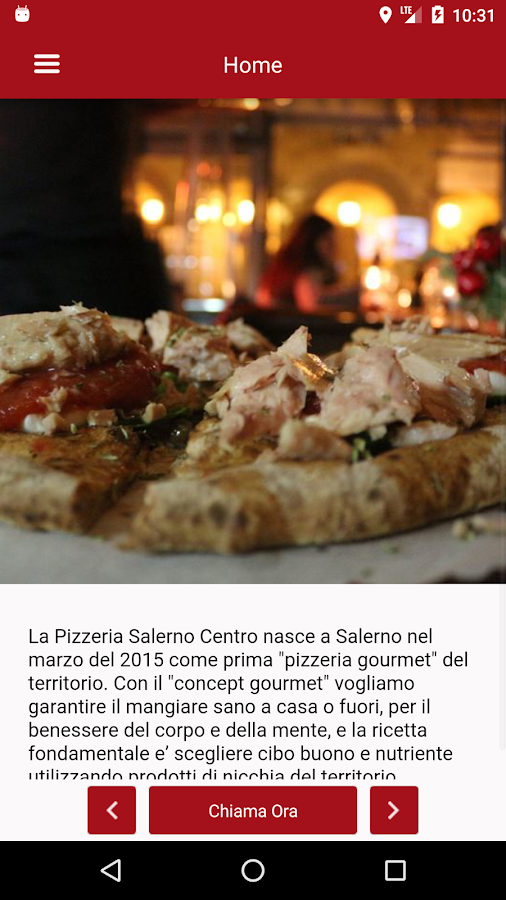 Salerno Centro Pizza Gourmet- screenshot