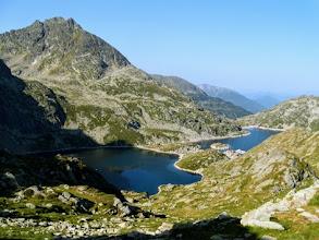 Photo: Collada de Juclar, 2442m, vista sugli Estany de Juclar (Andorra).