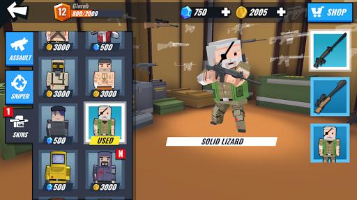 Battle Gun 3D - Pixel Block Fight Online PVP FPS screenshots 6