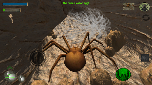 Spider Nest Simulator - insect and 3d animal game 2.1 screenshots 1