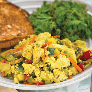 Vegan Tofu Scramble Breakfast Recipes