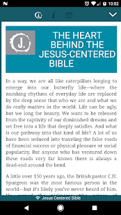 Jesus Centered Bible - náhled