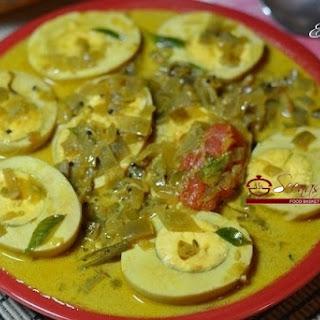 Egg Stew / Egg in Coconut Milk / Kerala Mutta Ishtu