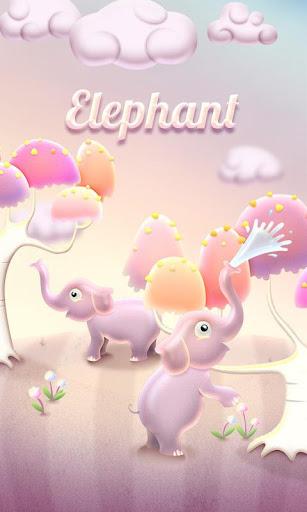 Elephant GO Keyboard Theme