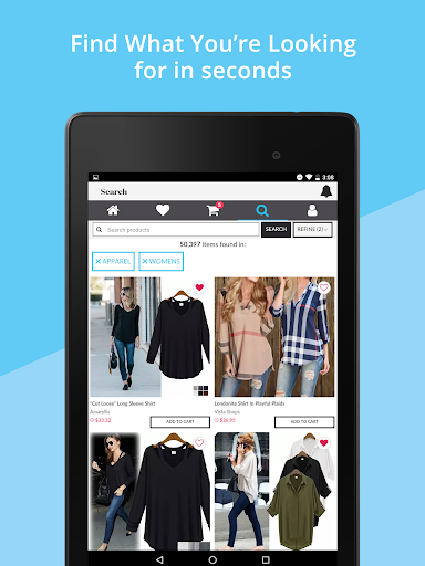 OpenSky Shopping screenshot 12