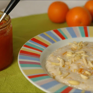 Oats porridge with pumpkin and Anise jam.