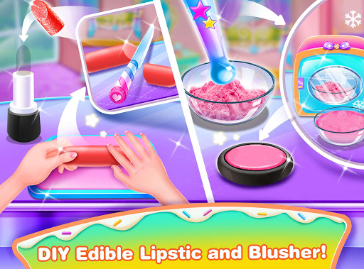 Girl Makeup Kit Comfy Cakesu2013Pretty Box Bakery Game 1.1 screenshots 3