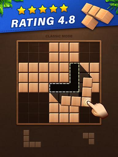 Fill Wooden Block 8x8: Wood Block Puzzle Classic  screenshots 6