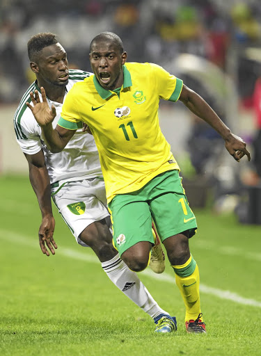 Rising star: Leftback or wing Maphosa Modiba is one of the emerging Bafana players who have impressed. Picture GALLO IMAGES