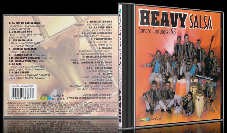 Sonora Carruseles - Heavy Salsa (1998) [MP3 @320 Kbps]