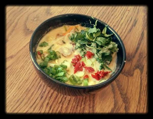 Thai Vegetable Noodle Curry Recipe