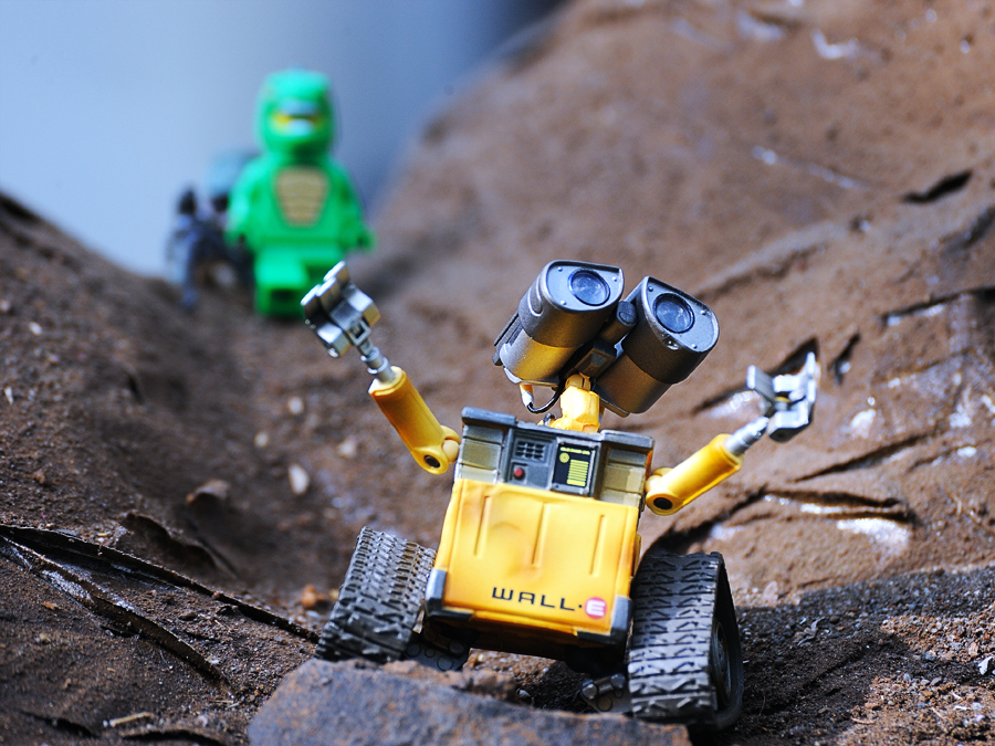 Wall-E by Kresnata Adijaya - Artistic Objects Toys ( wall-e, toys, robot )