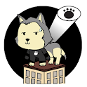 Animated Husky Keyboard Stickers for Gboard icon