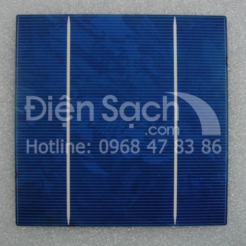 Pin mặt trời đa tinh thể 156mmx156mm