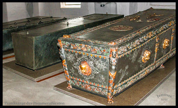 Photo: Grave laying of the Duke of Pomerania