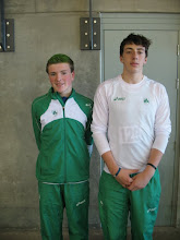 Photo: Daniel Ryan & Matthew Dalton who finished best of the Irish Junior Boys team in 6th & 8th place.