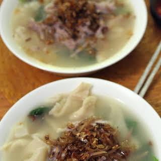 Malaysian Style Pasta Soup - Mien Fen Kao.