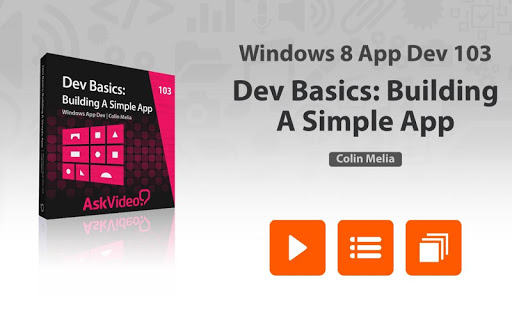 App Dev 103 Course For Windows