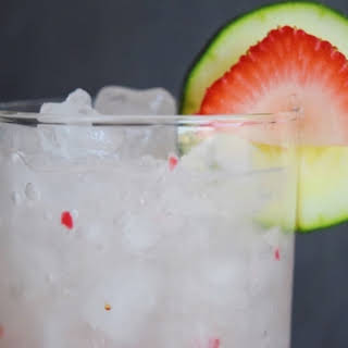 Strawberry & Sage Agua Fresca.