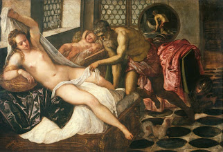 Photo: Tintoretto, Mars and Venus Surprised by Vulcan,  Ca. 1555