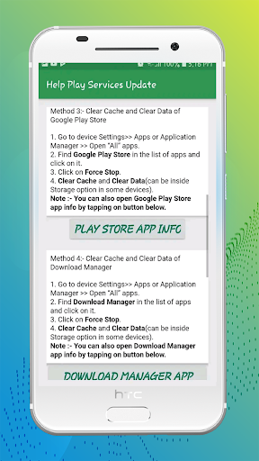 Fix Play Services error(Update)&Info of Play Store 1.0.1 com.frdeveloper.help.update.playstore.playservices apkmod.id 2