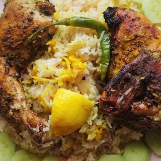 Yemeni Mandi Chicken
