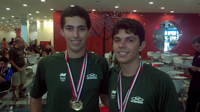 Photo: Bruno Costa & Thiago Felicetti (OURO nas duplas masculinas 2.ª divisão)