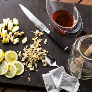 Honey-Lemon-Ginger Sweet Tea.