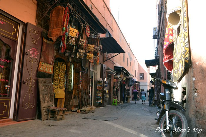 """The first glance at Marrakech reminded me a lot of the """"pink city"""" Jaipur in India"""