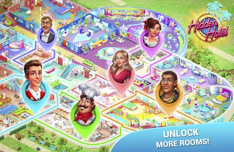 Hidden Hotel Mod Apk 1.1.51 (Unlimited Energy + Coins + Star) 4