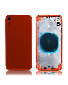 iPhone XR Back Housing without logo High Quality Red