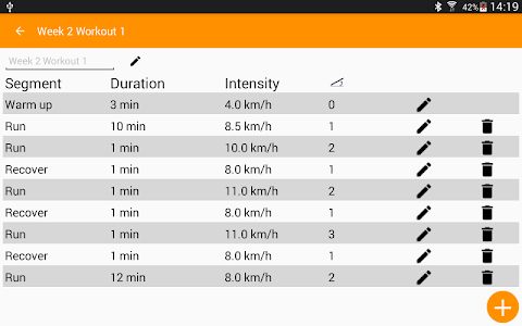 Treadmill Workouts (P) screenshot 10
