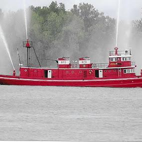 by Mary Stewart - Transportation Boats