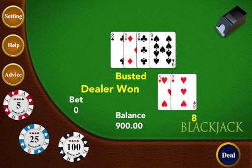 21点 黑杰克 - 二十一点赌场游戏
