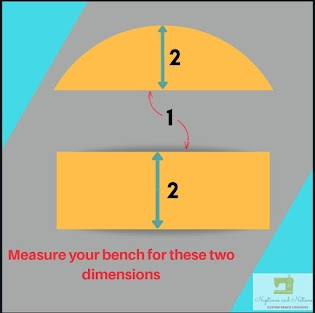 1) Measure the longest part of the length    2) Measure the widest part of the width