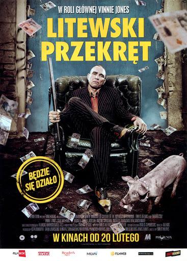 Przód ulotki filmu 'Litewski Przekręt'