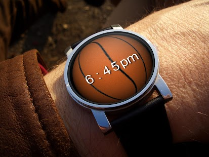 Sports 3D Watch Face- screenshot thumbnail