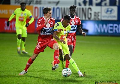 KV Kortrijk-AA Gent: 1-0