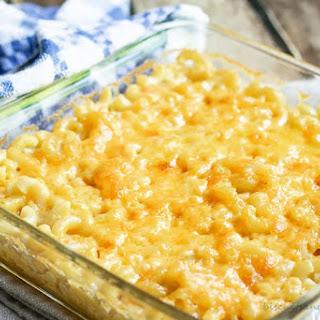 Macaroni and Cheese Like Mama Made.