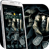 Hell skull ring theme 3d