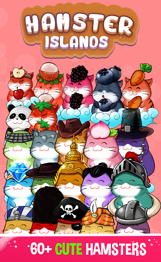 Hamster Islands - Cute Animals Screenshot