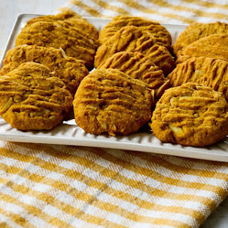 Low-Sugar and Whole Wheat Pumpkin Almond Cookies Recipe