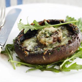 Garlic, Herb and Cheese Mushrooms