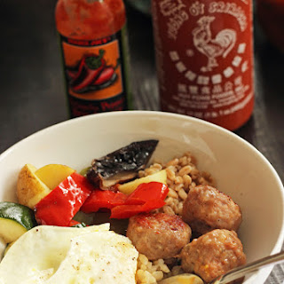Egg and Sausage Breakfast Bowls