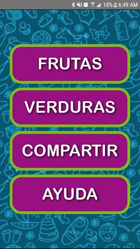 Juego para Colorear Frutas y Verduras 10.0 screenshots 2